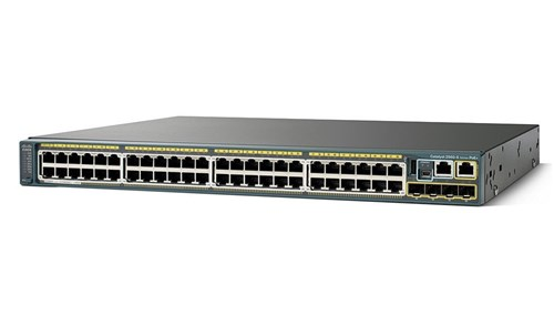 Cisco Catalyst WS-C2960X-48TS-L Networking Switch
