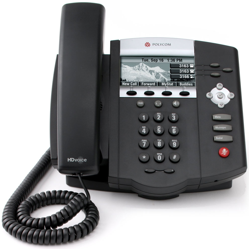 Polycom SoundPoint® IP 450 VoIP Phone PIP450VOIP by Polycom