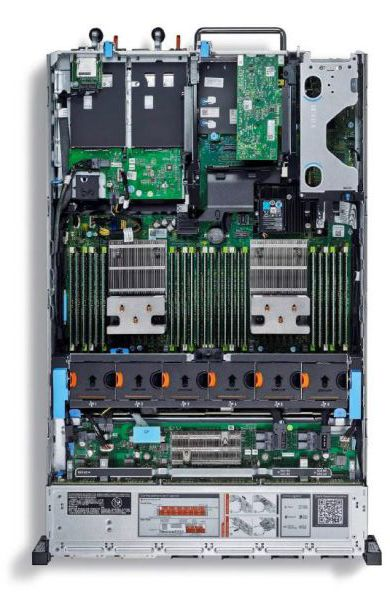Dell PowerEdge R730xd_internal chassis